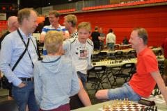 Nicolay, Jo og Elias kapret en flott 5. plass i laglyn-turneringen med tidshandicap.
