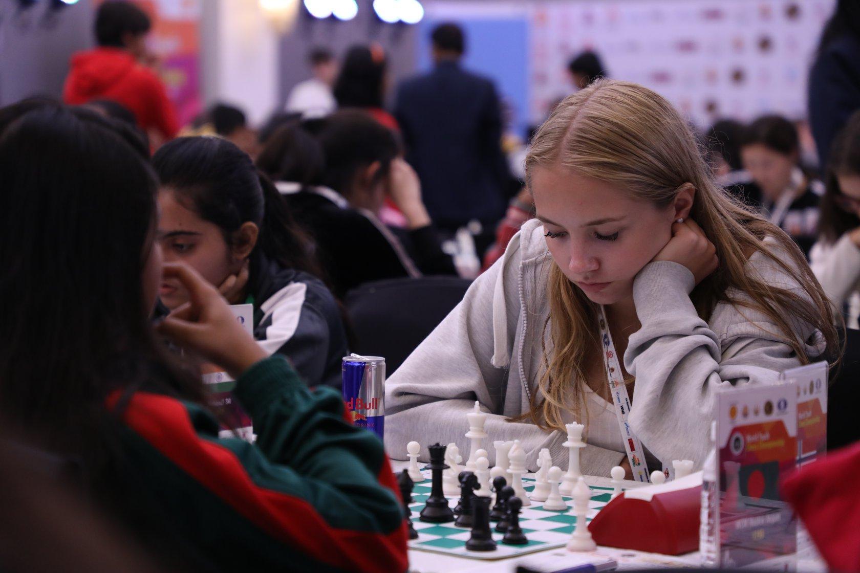Embla i aksjon i VM for ungdom